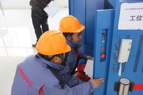 全国首届电梯安装维修工职业技能竞赛重庆场